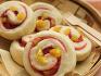 ♥ 굽지 않고 찐, 딸기 앙금 품은 밤 빵 .색도 맛도 봄이에요