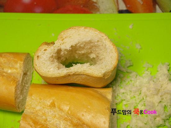나들이도시락으로 좋은 터널 샌드위치만드는법/샌드위치만들기